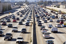 Los Angeles Freeway Traffic--t...