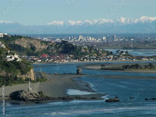 Deurstickers Nieuw Zeeland Christchurch City