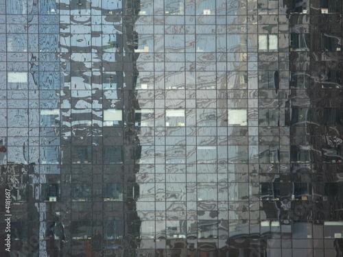 Fotografering  façade miroir