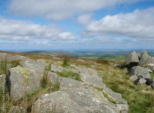 Foto auf Gartenposter Hugel Preseli hills view