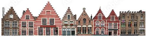 Photo  bruges - façades
