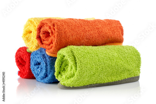 Fotografia  Multicolour towels rolls