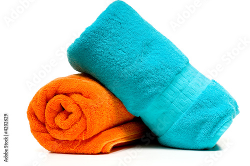 Fotografie, Obraz  Two bath towels