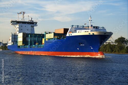 Fotografía  Container, Transport, Schiff