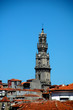 canvas print picture - an overview over the roofs of porto
