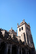 canvas print picture - a chruch in the city of porto