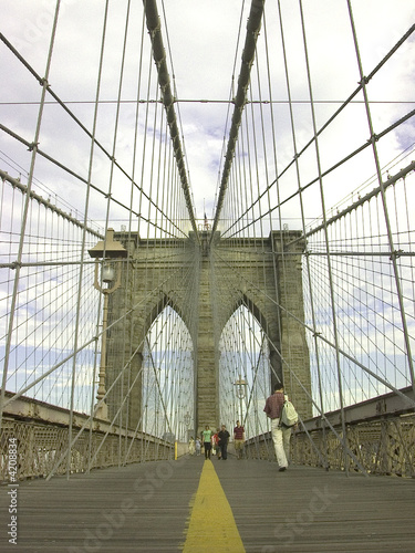 Foto op Canvas Brooklyn Bridge ponte di Brooklyn
