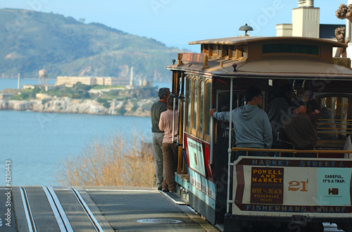 San Francisco cable car Poster