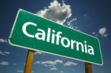 California Road Sign With Dram...