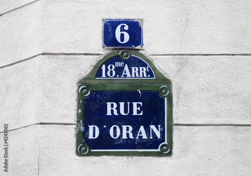 Fotografie, Obraz  Rue d'Oran