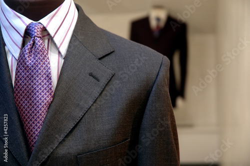 Fotografie, Obraz  Suits on shop mannequins