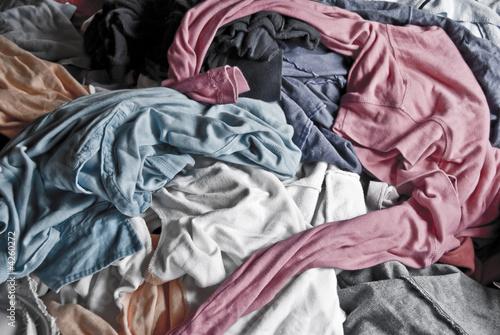 Valokuva  Der wäschehaufen