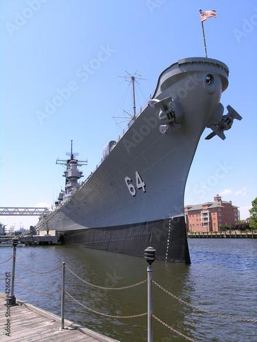 Fotografia Battleship - U.S.S. Wisconsin