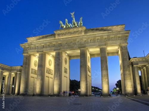 Foto-Kassettenrollo premium - Brandenburger Tor