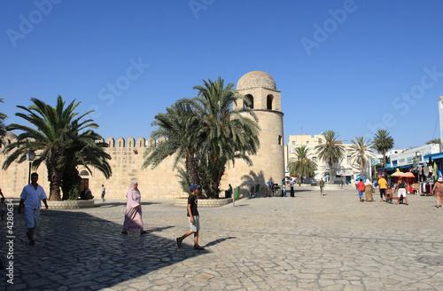 Staande foto Tunesië tunisia. sousse.