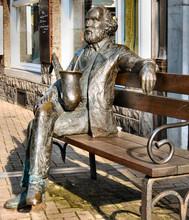 Statue Adolphe Sax
