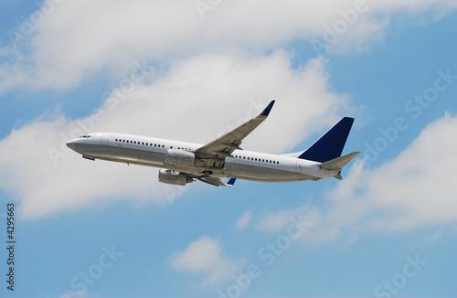 Fotografia  Boeing passenger jet airplane