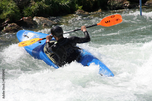 Garden Poster Water Motor sports kayak
