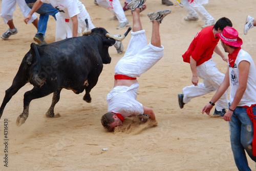 Slika na platnu San Fermin Festival-Pamplona