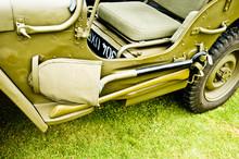 Military WW II Jeep