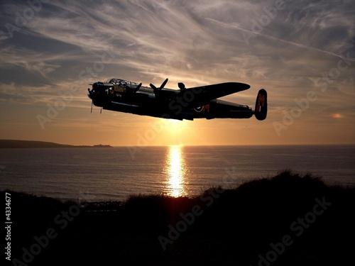 Obraz na płótnie lancaster bomber