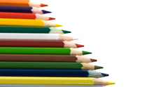 Assortment Of Coloured Pencils...