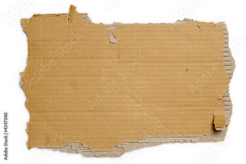 Fotomural Torn cardboard