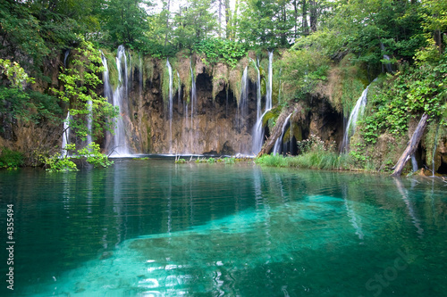 Fototapeta wodospady wodospad-turkusowy