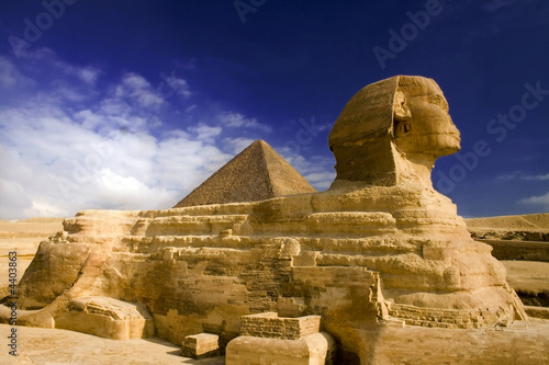 Foto-Flächenvorhang - sphinx (von sculpies)