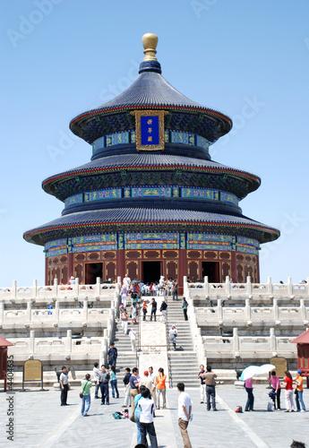In de dag Peking temple of heaven
