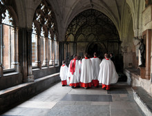 Choristers In Westminster Abbe...