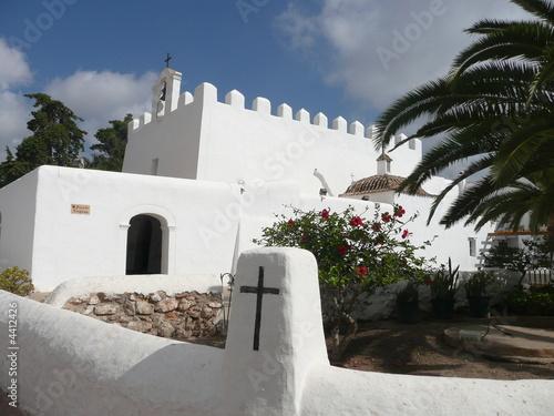 Iglesia de San Jorge - Ibiza Wallpaper Mural
