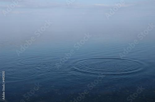 Water Ripples in Lake Baikal