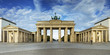 Leinwanddruck Bild - Brandenburger Tor