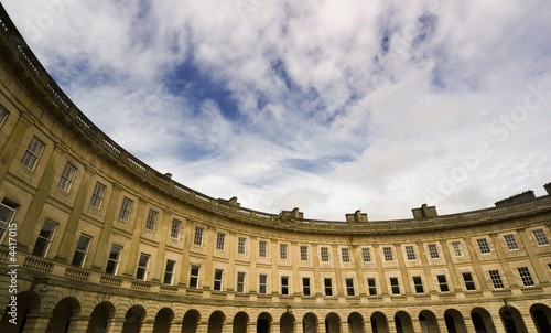 Canvas Print The Crescent, Buxton