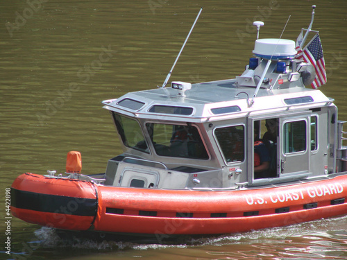 Fotografie, Obraz  little coast guard cutter