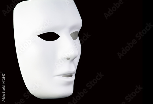 White Mask Fototapet