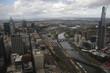 Melbourne - View over/Blick über