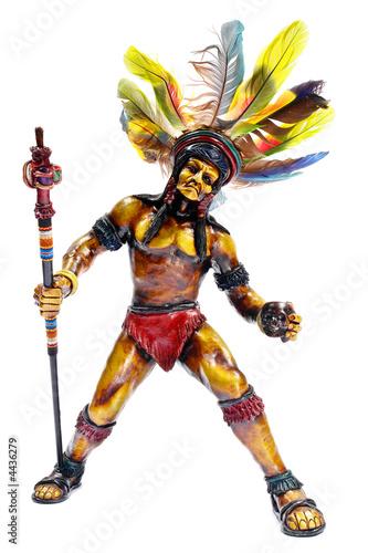 Poster Indiens figurine