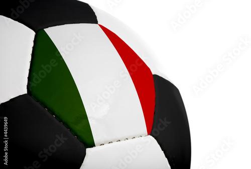 Fényképezés Italian Flag - Football