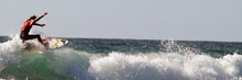 Surfeur Rouge