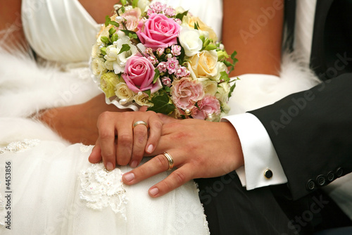 Fotografie, Obraz  Wedding rings
