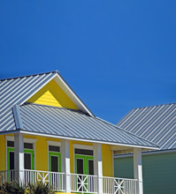 Yellow And Green Coastal Home