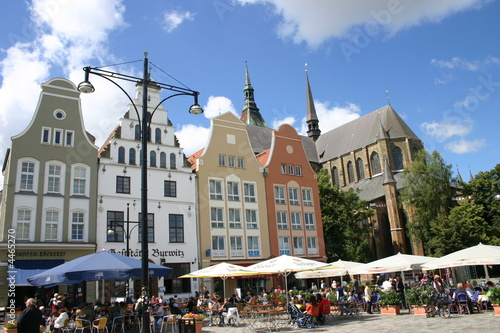 Fotomural Rostocker Marktplatz II