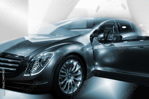 Fototapeta new car obraz na płótnie