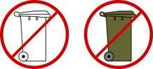 Do Not Throw In Rubbish Bin