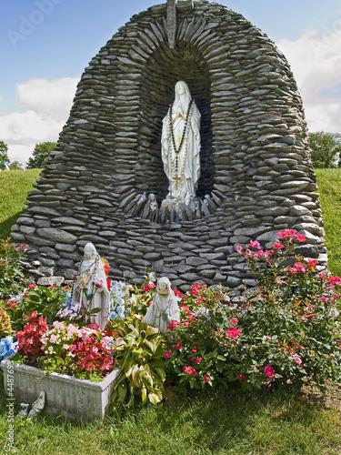 Lourdes Statue 1 Poster