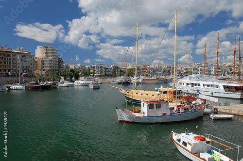 Canvas Prints Athens The Zea marine in Piraeus