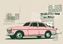 Vintage Custom Collector's Car