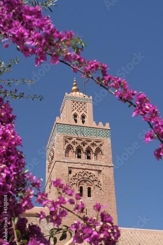Fotografie, Obraz  Koutoubia minaret in Marrakesh